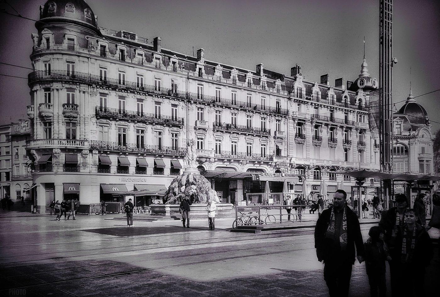 Montpellier - La place de la Comédie