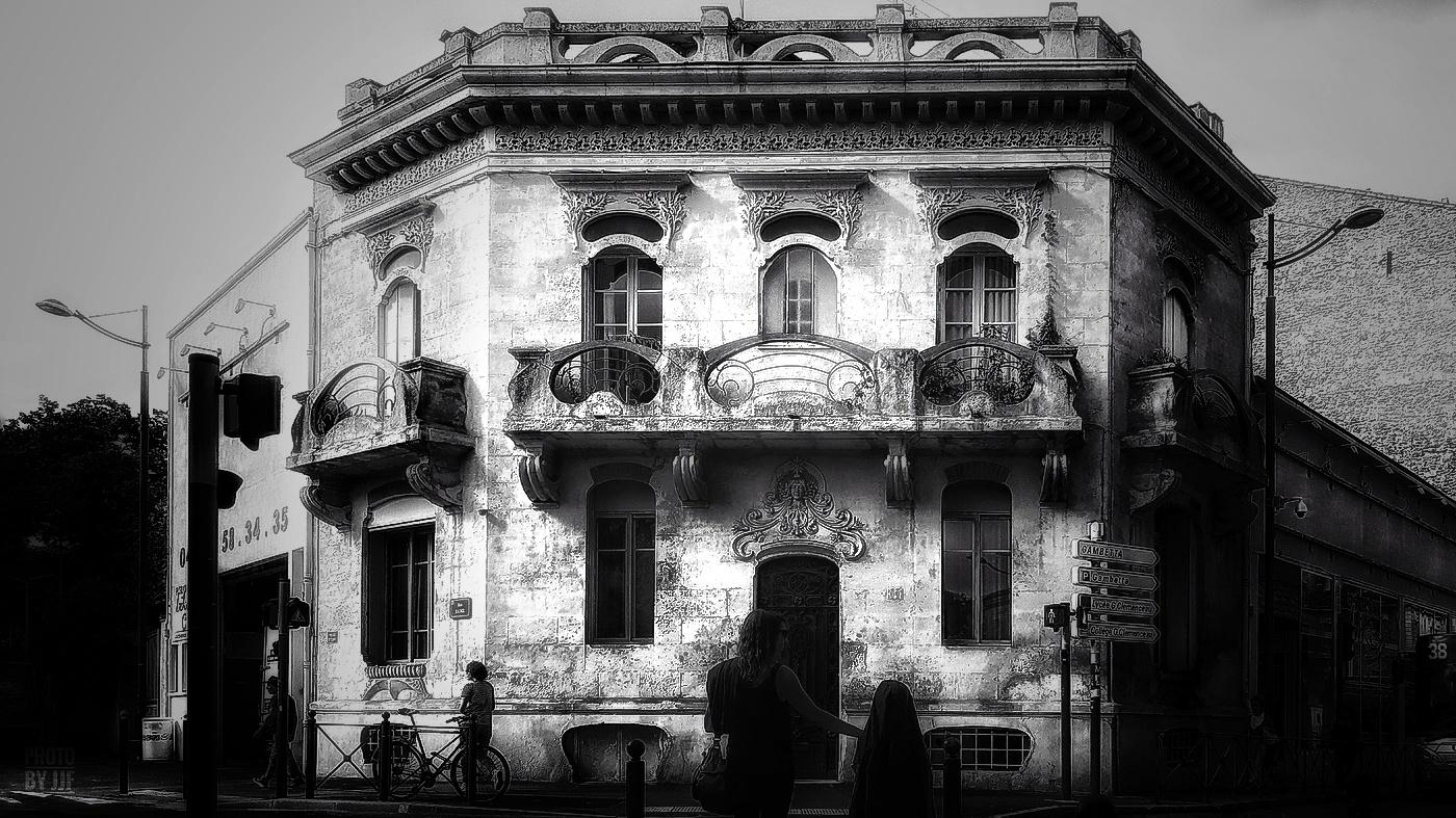 Maison art nouveau avenue de Toulouse