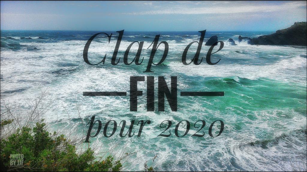Clap de fin pour 2020